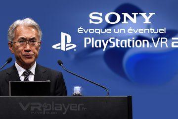 Sony évoque l'arrivée prochaine d'un PlayStation VR 2