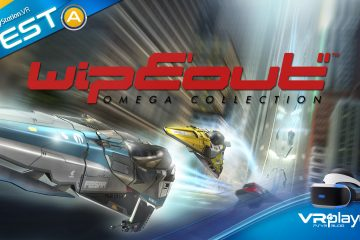PlayStation VR : WipEout Omega Collection, 3, 2, 1 … Le test VR4player.fr !