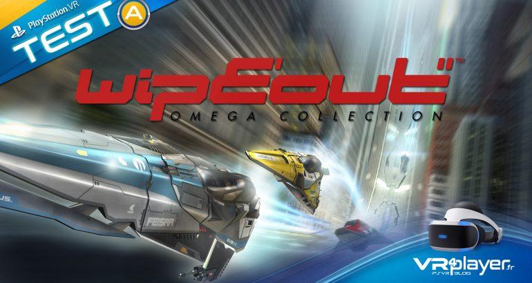 WipEout Omega Collection le test sur PSVR vr4player.fr
