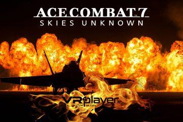 PlayStation VR : Ace Combat 7, ça part en VRille !