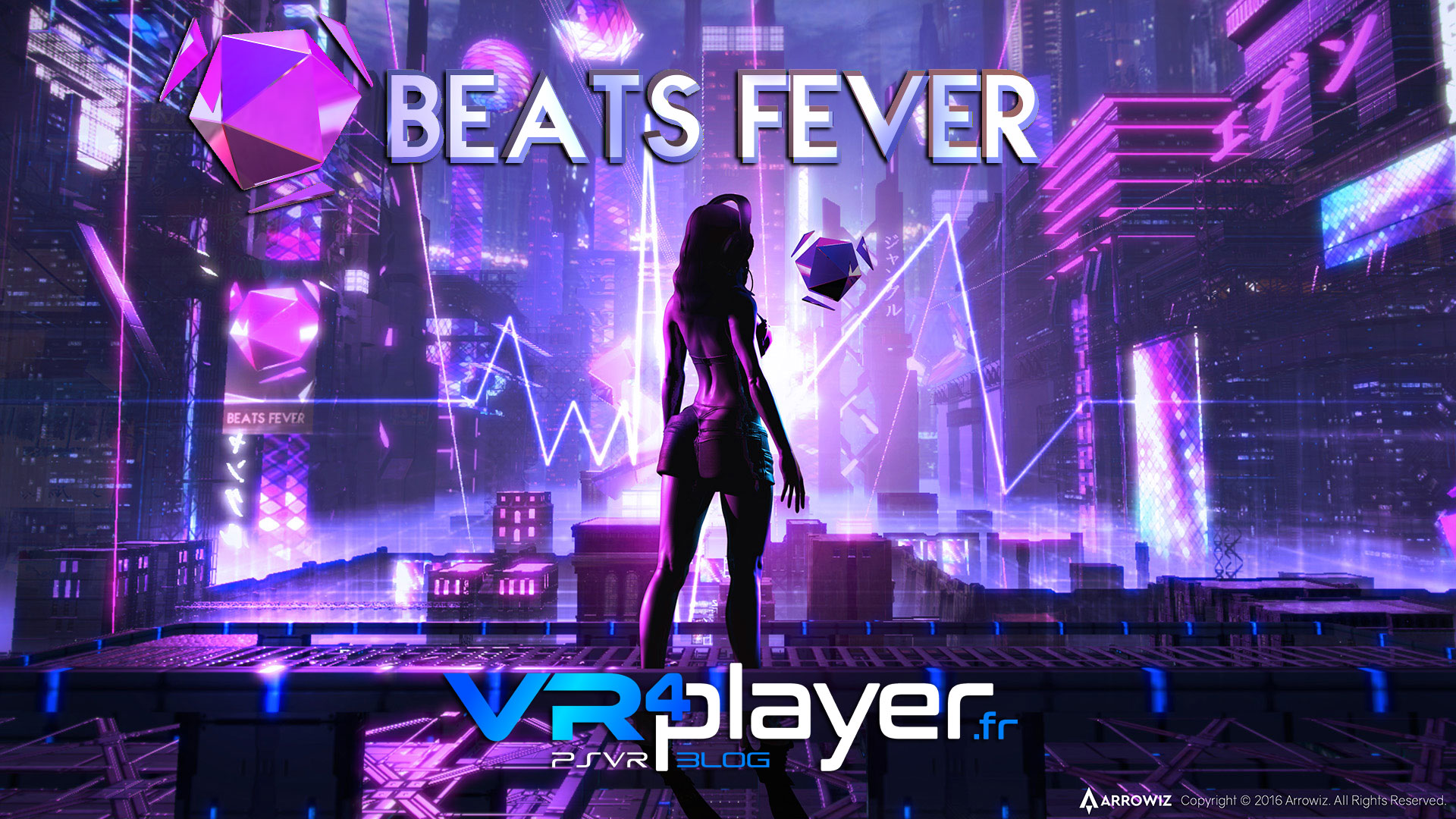 Beats Fever sur PSVR vr4player.fr