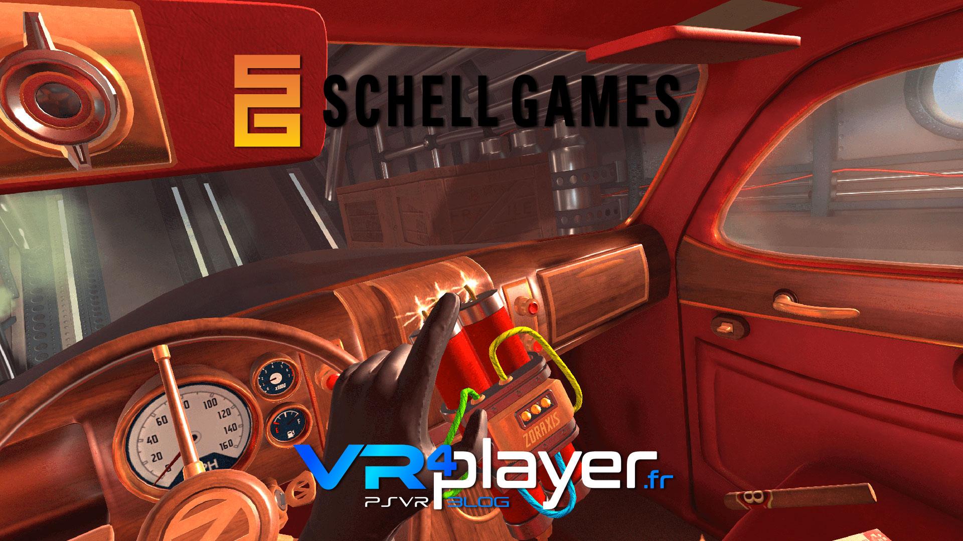 l'actualité du studio Schell Games sur PSVR vr4player.fr