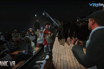 PlayStation VR : Le Titanic refait surface ! dans Titanic VR sur PSVR …