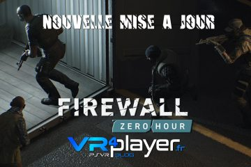 PlayStation VR : Firewall Zero Hour, le patch 1.03 est sorti sur PSVR !