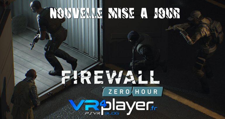 le patch 1.03 est sorti pour Firewall vr4player.fr