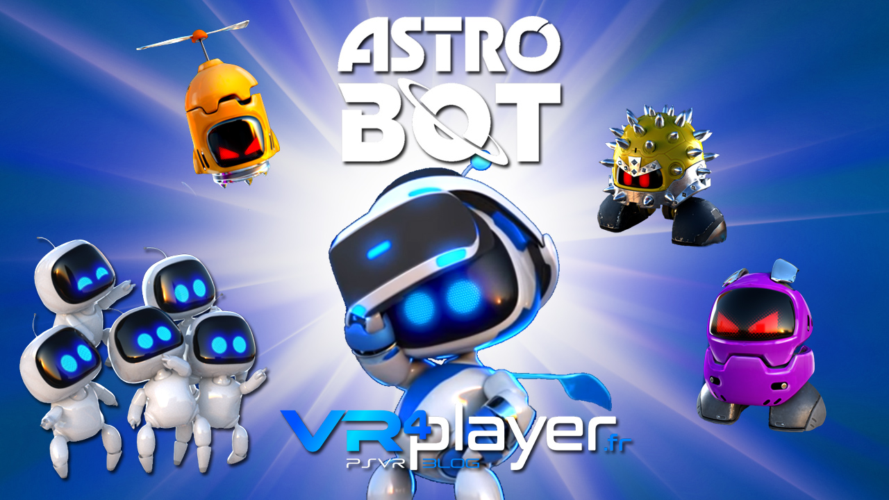 Astro Bot Rescue Mission sur psvr VR4Player