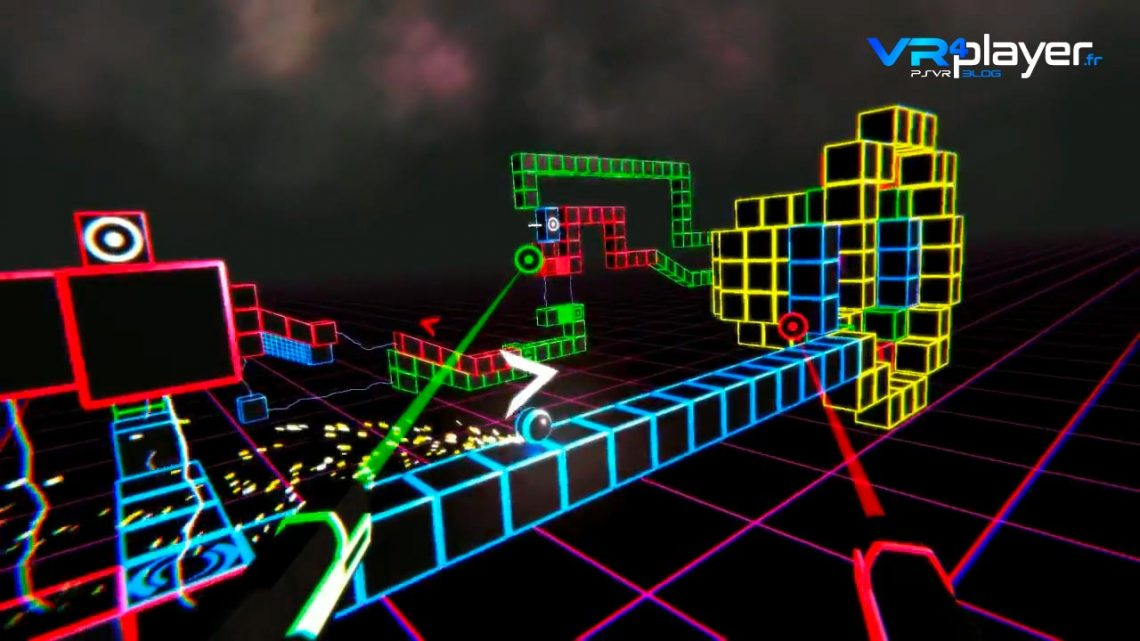 Neonwall sur PSVR