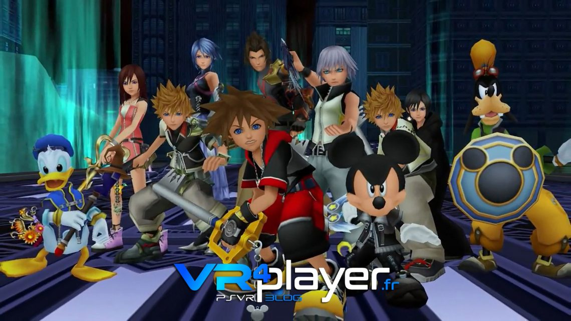 Kingdom Hearts VR Experience PSVR vr4player.fr