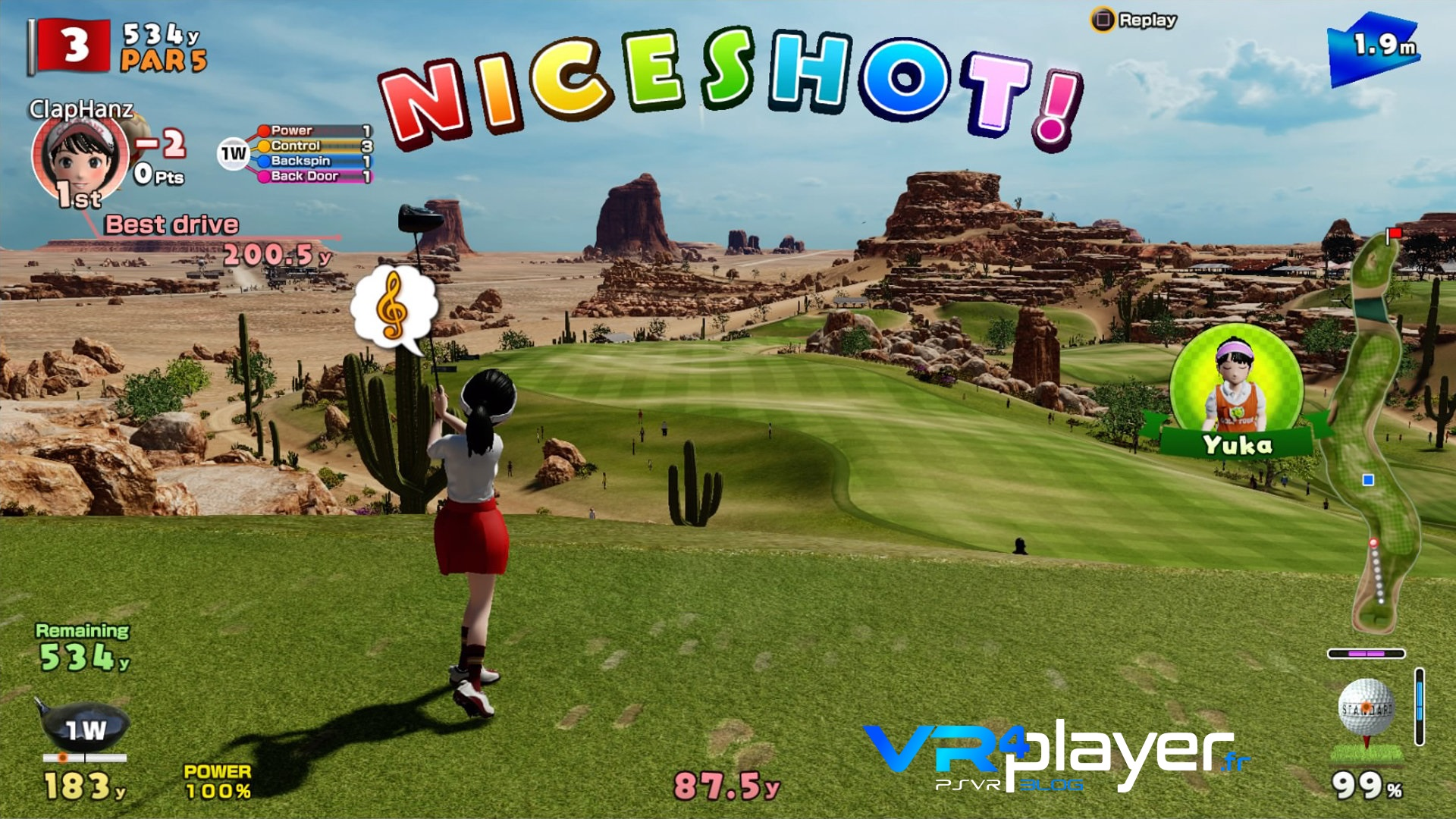 Everybody's Golf PlayStation VR, PSVR