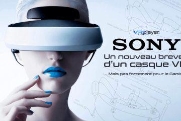 PlayStation VR : Sony, Un nouveau brevet d'un casque VR particulier