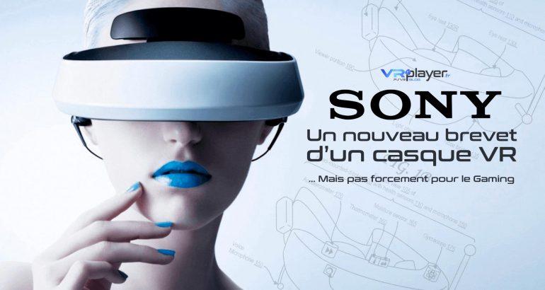 Brevet Sony, un casque VR plutôt particulier VR4Player