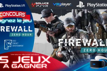 PlayStation VR PSVR Concours : Qui veut gagner Firewall Zero Hour ?