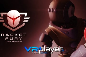 PlayStation VR : RACKET FURY Table Tennis VR sortira le 2 octobre sur PSVR !