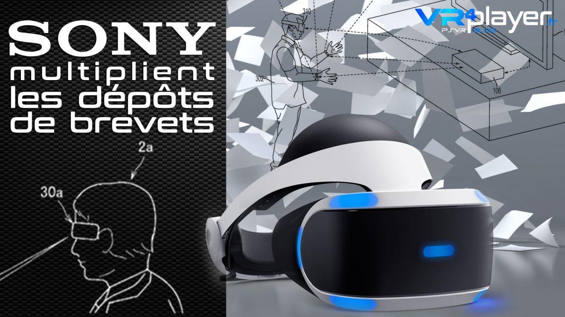 Brevet Sony : PlayStation VR2 VR4player