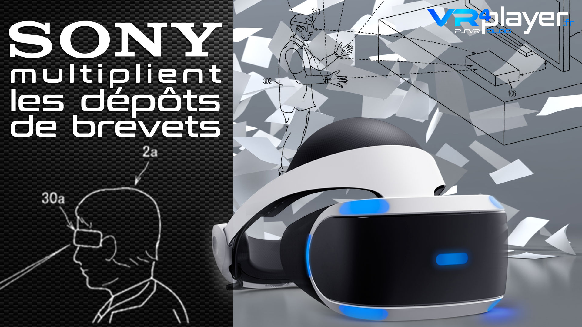 Brevet Sony : PlayStation VR2 VR4player