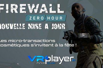 PlayStation VR : Firewall Zero Hour se lance en microtransactions sur le Store !