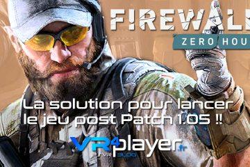 PlayStation VR : Firewall, la solution pour jouer après le patch 1.05 !!