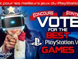 Vote for the best games 2018 PlayStation VR VR4Player
