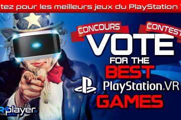 PlayStation VR : Votez pour les meilleurs jeux du catalogue PSVR !