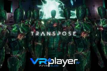 PlayStation VR : Transpose pose sa date sur PSVR