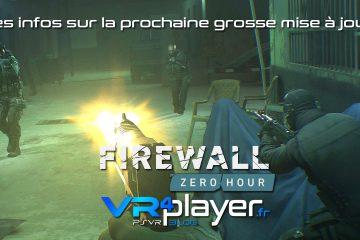 PlayStation VR : Firewall Zero Hour, une grosse mise à jour très bientôt sur PSVR