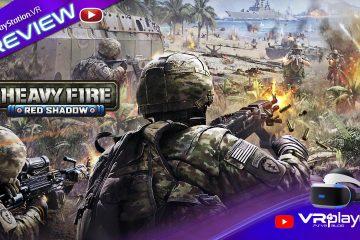 PS4, PlayStation VR : Heavy Fire Red Shadow sur PSVR, notre preview en vidéo