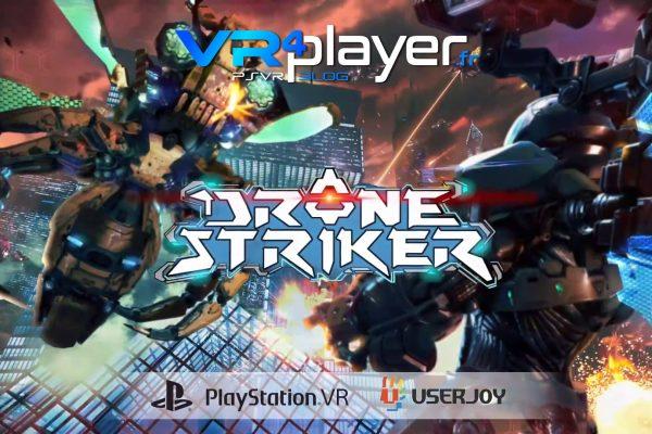 Drone Striker daté sur PSVR vr4player.fr