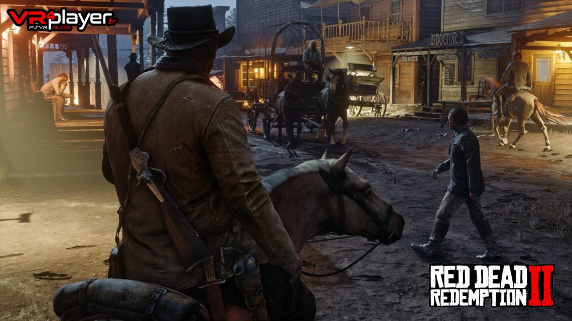 Red dead Redemption 2 VR est-ce possible ? VR4player