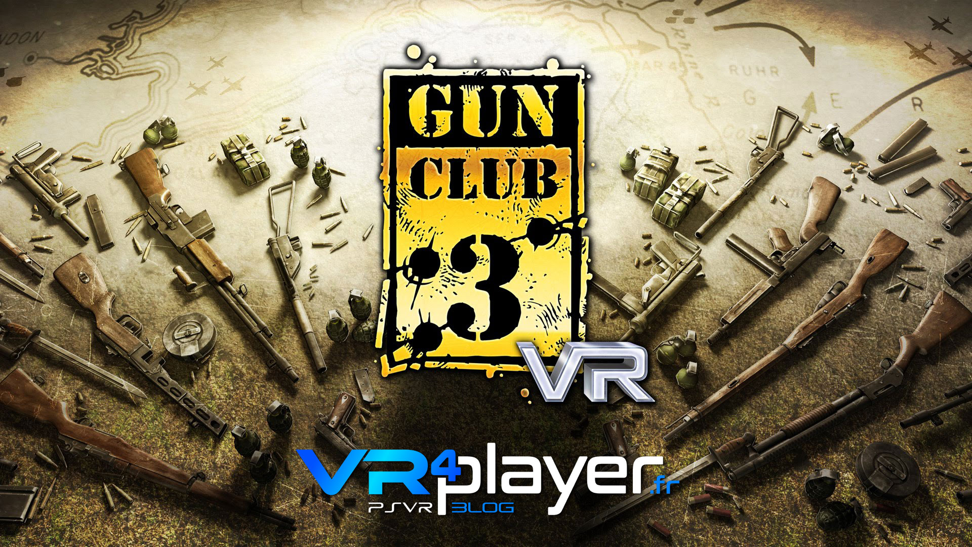 Gun Club VR s'invite sur PSR - vr4player.fr