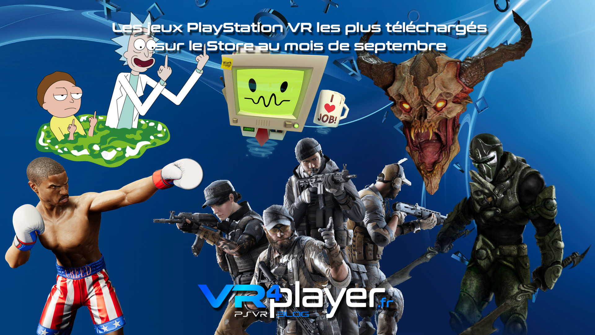 Le top des ventes PSVR de septembre vr4player.fr