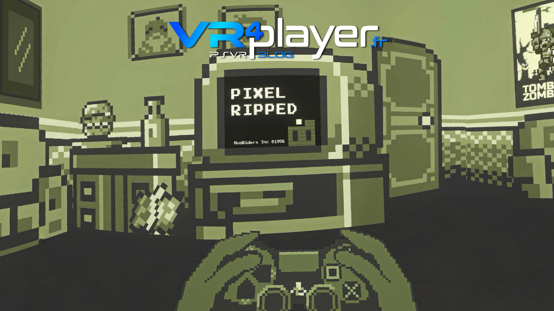 Pixel Ripped 1989 sort le 16 octobre sur PSVR vr4player.fr