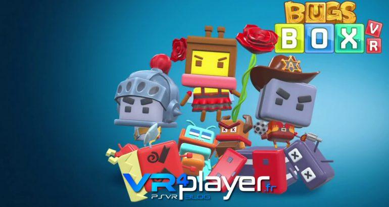 Bugsbox VR bientôt sur PSVR - vr4player.fr