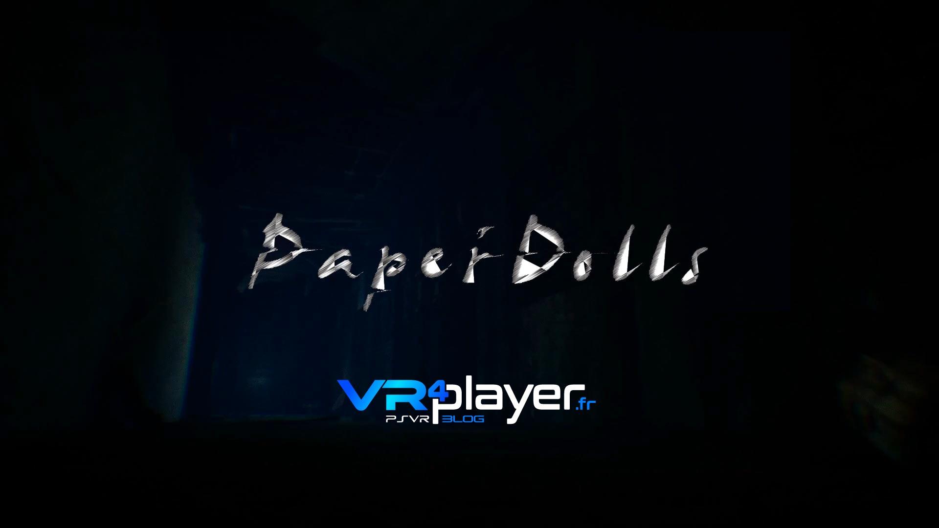 Paper Doll sur PSVR VR4player.fr