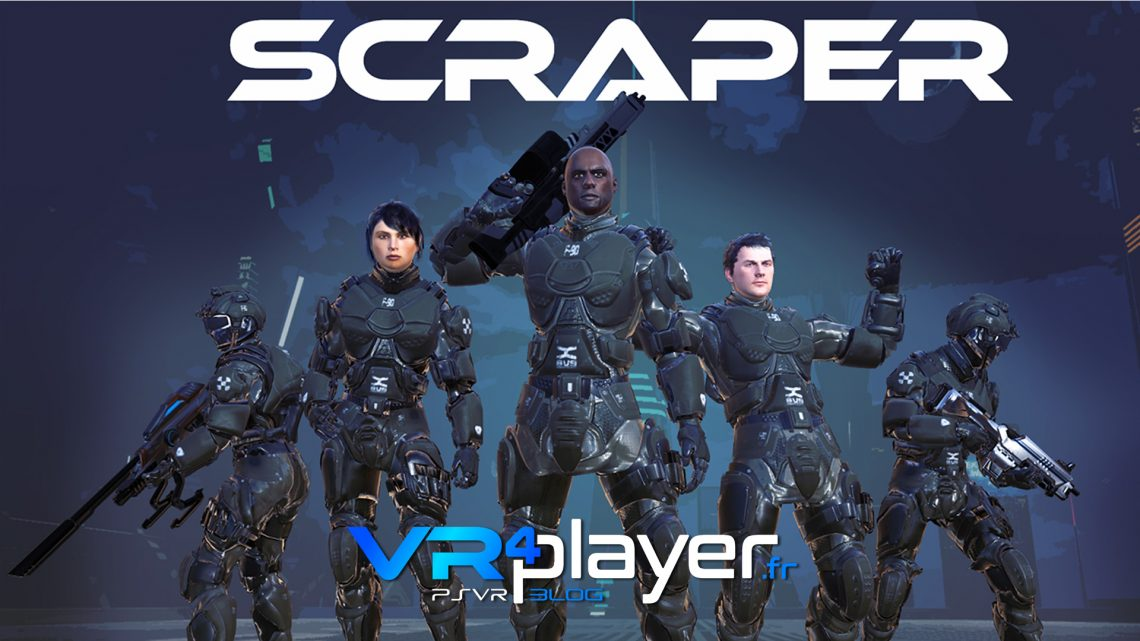 Scraper First Strike -PSVR -VR4player.fr