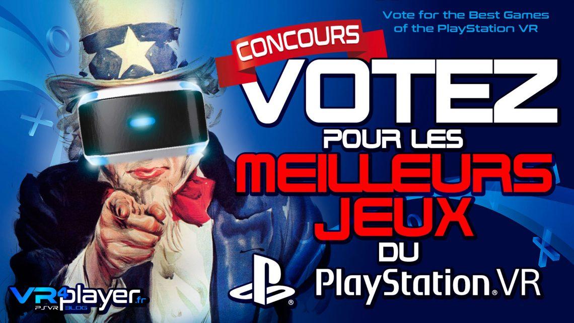 TOP PlayStation VR Votez pour les meilleurs jeux du PSVR !
