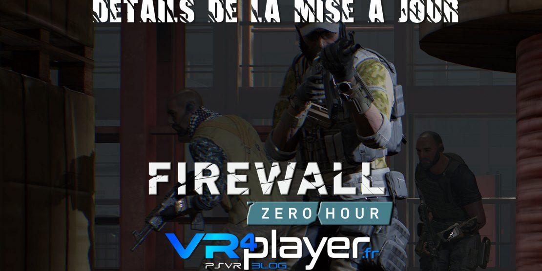 PlayStation VR : Firewall Zero Hour, les détails de sa mise à jour révélés
