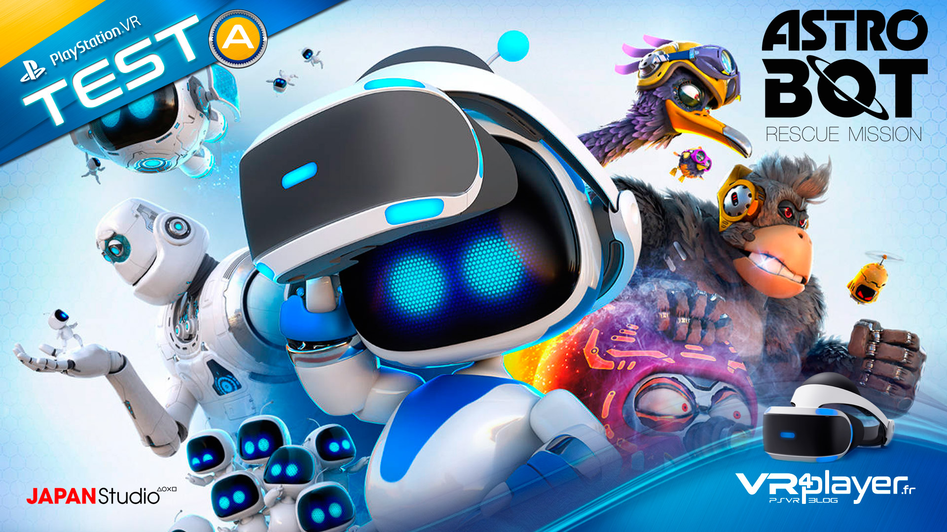 Astro Bot test review complet VR4player