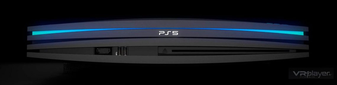PlayStation 5 PS5, Portrait robot de la future PlayStation par VR4Player