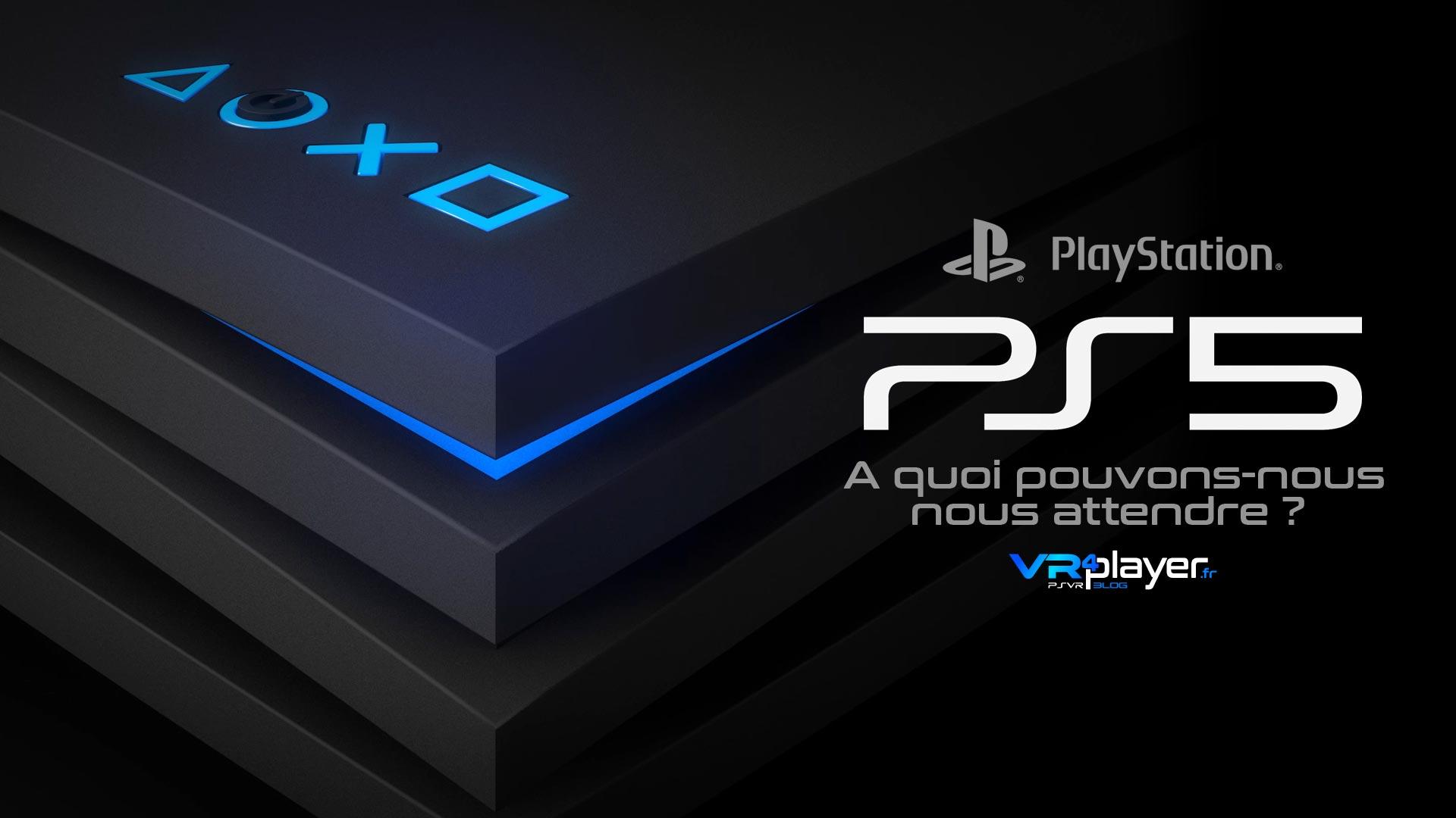 PlayStation 5 PS5, Portrait robot de la future PlayStation par VR4Player