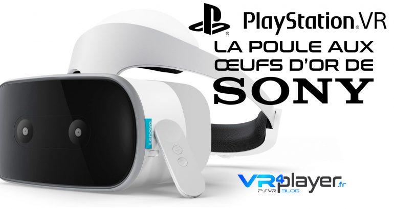 Lenovo, PlayStation VR, la poule aux œufs d'or de Sony ! Lenovo Mirage VR4player