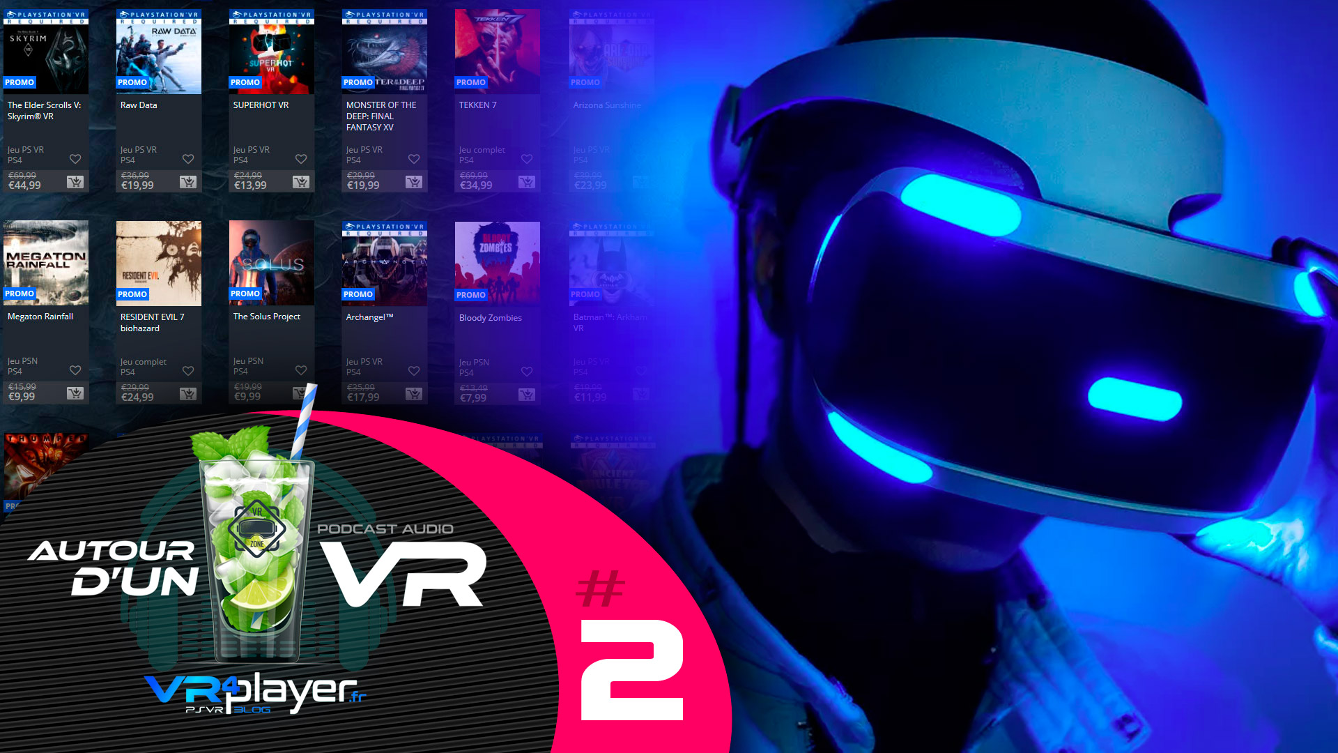 Podcast Autour d'un VR #2 VR4player