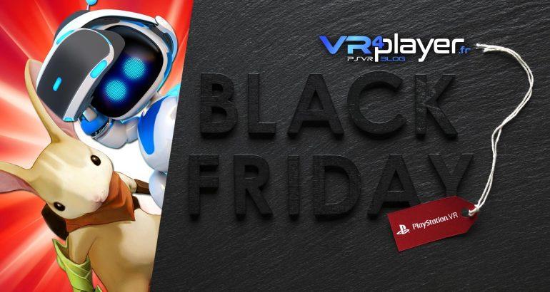 le Blacl Friday, c'est maintenant sur PSVR . vr4player.fr