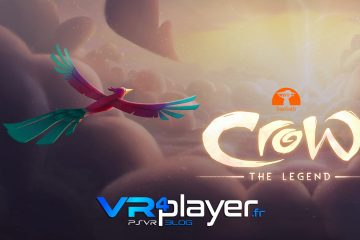 PlayStation VR : Crow the Legend, film d'animation gratuit sur PSVR