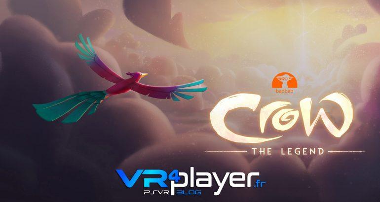 Crow the Legend, le film d'animation disponible sur PSVR - vr4player.fr