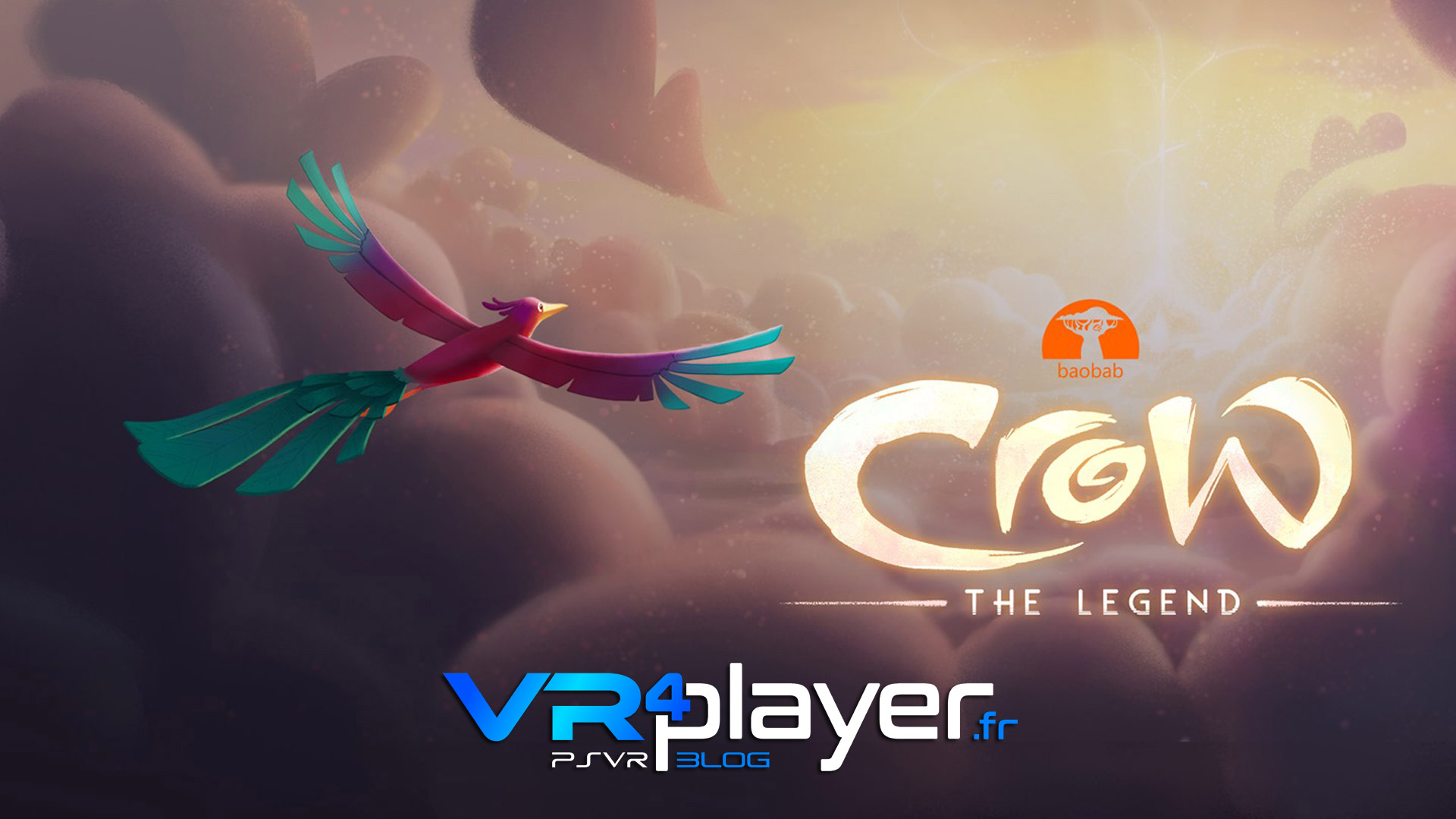 Crow the Legend, le film d'animation disponible sur PSVR - vr4player.fr