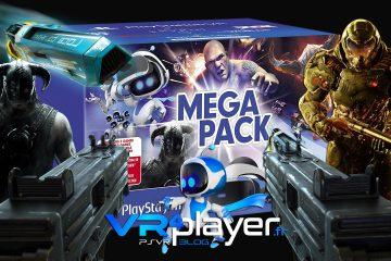 PlayStation VR : le MEGA Pack PSVR arrive officiellement aujourd'hui en Europe !