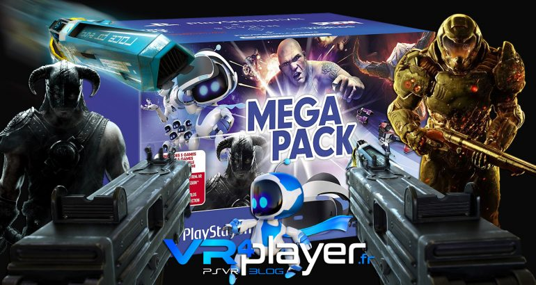le Mega Pack disponible en Europe sur PSVR - vr4player.fr