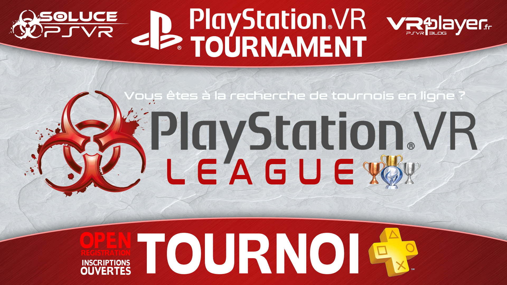 TOURNOI PLayStation VR - PS+ Soluce PSVR