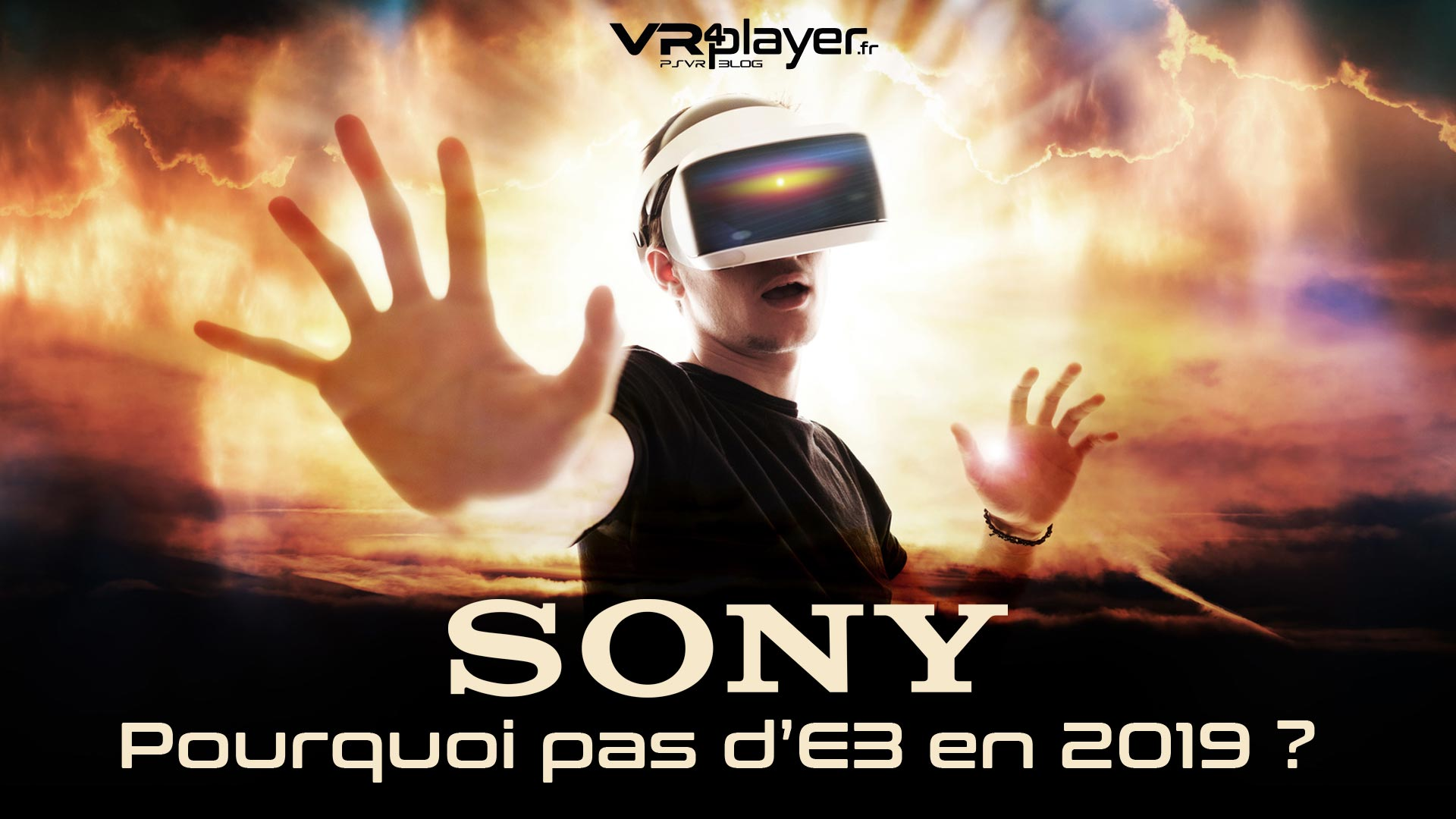 E32019 Sony PlayStation VR4player