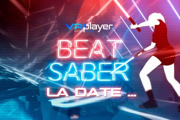 PlayStation VR : BEAT SABER, une date !!! Nan Nan c'est vrai !